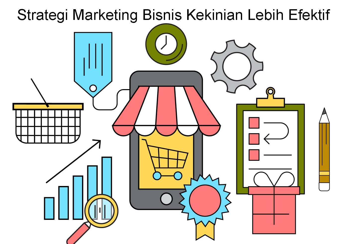 Strategi Marketing Bisnis Kekinian Lebih Efektif